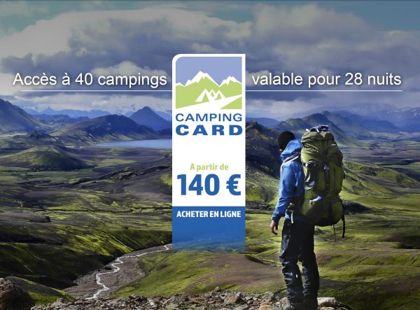 CAMPING CARD ISLANDE