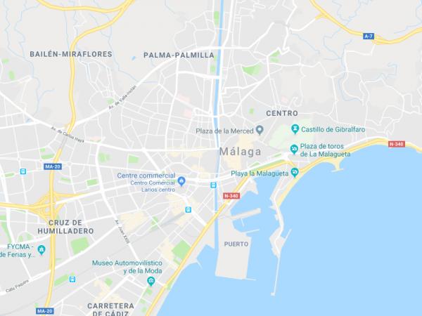 map malaga SITE