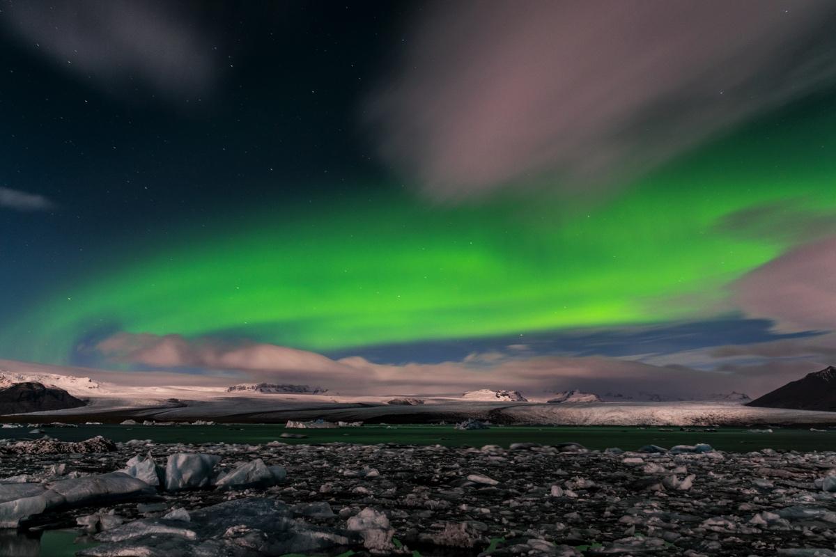 aurore-boreale-a-jokulsarlon