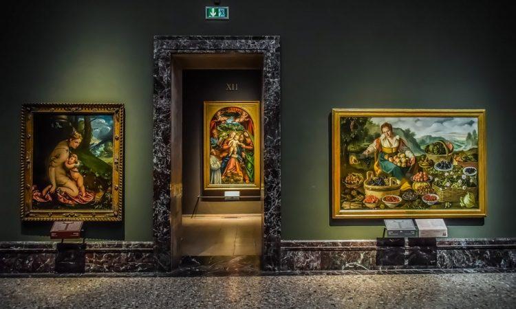 Interior Paintings Gallery Art Pinacoteca Di Brera