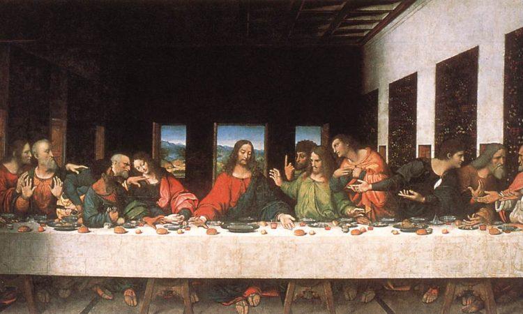 Cène de Léonard de Vinci