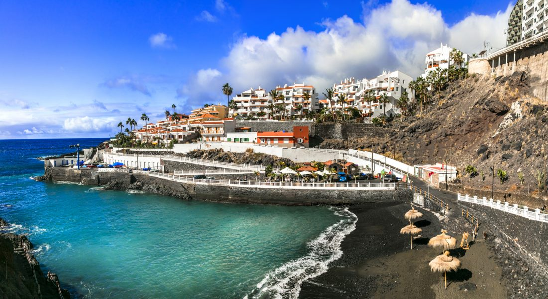 small charming towns of Tenerife island. Canarian holidays