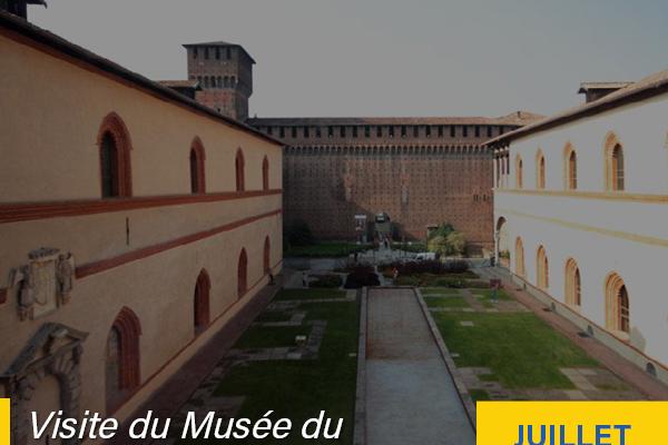 visite du Musée du Château Sforzesco 2