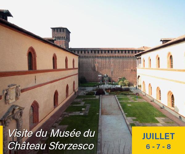 visite du Musée du Château Sforzesco